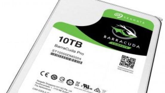 Seagate lanza un disco duro de 10 Tb