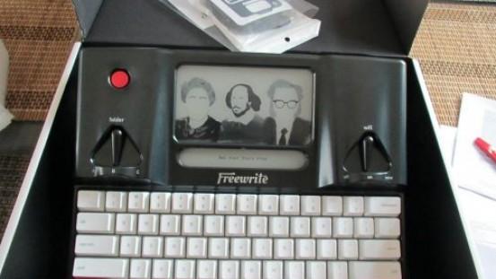 Freewrite, una máquina de escribir 2.0