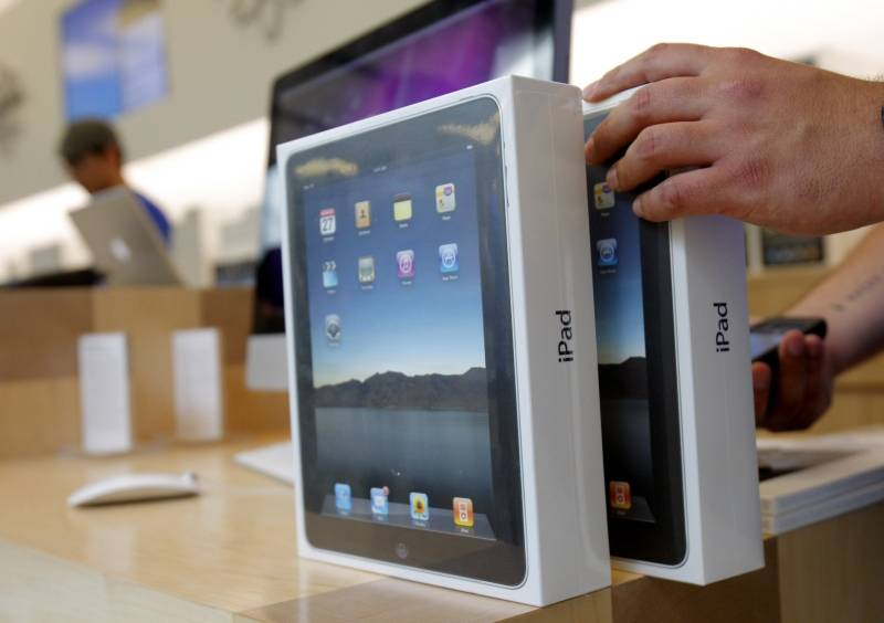 Apple regala 9 mil iPads en Estados Unidos