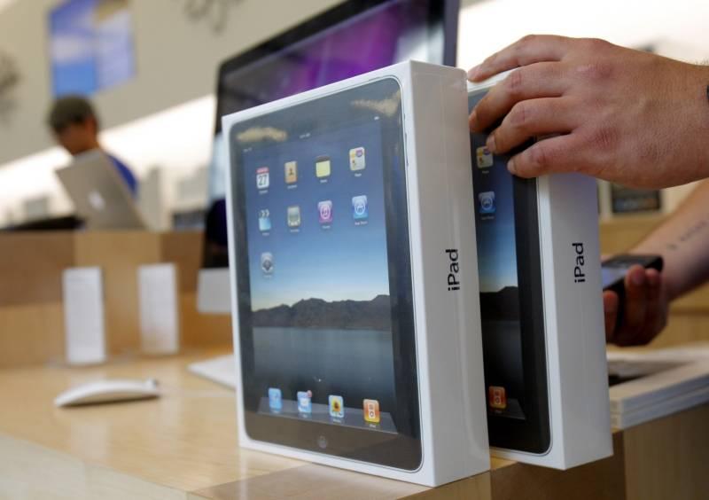 Apple regala 9 mil iPads en Estados Unidos
