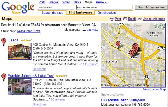 Google lanza +Snippets en Google Maps