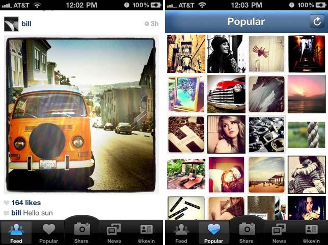 Instagram 2.0, nuevos filtros y fotografías en alta definición
