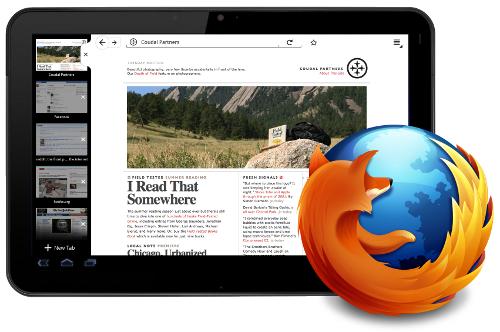 Mozilla lanza Firefox para tablet