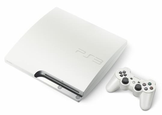 Sony lanza la PlayStation 3 blanca en Europa