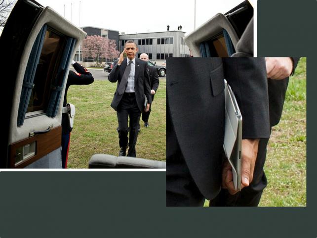 Barack Obama recibió el iPad 2 en forma anticipada