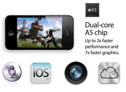 El iPhone 4S libre de fábrica estará disponible en noviembre