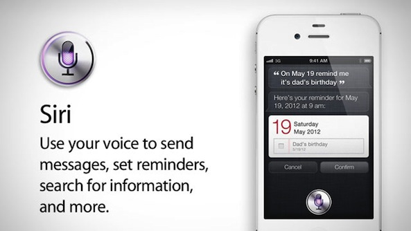 Siri, el asistente vocal para el iPhone 4S