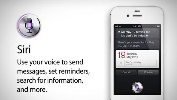 Siri, el asistente vocal para el iPhone 4S