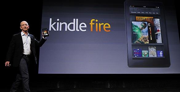 Amazon aumenta la producción de Kindle Fire