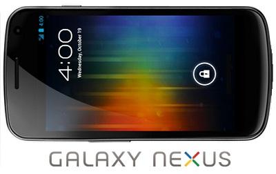 Galaxy Nexus estará disponible en Europa el 17 de noviembre