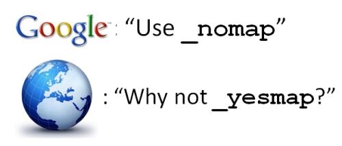 """Google annuncia la proposta """"_nomap"""""""