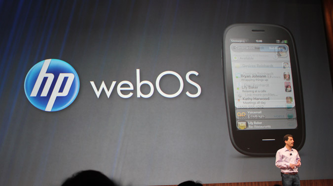 HP listo para vender webOS