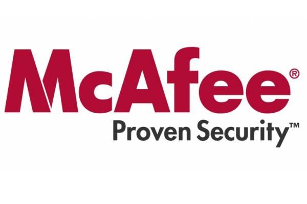 McAfee tiene el campo de la seguridad mundial