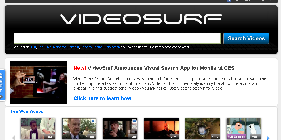 Microsoft adquiere VideoSurf para Bing