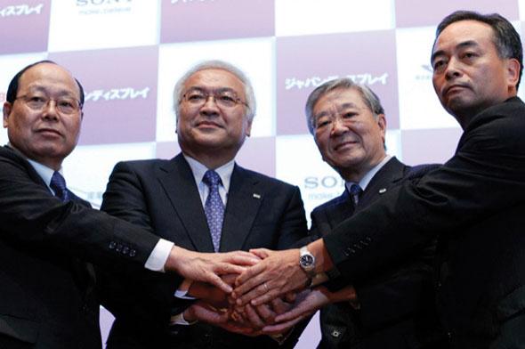 Sony, Toshiba y Hitachi conforman Japan Display