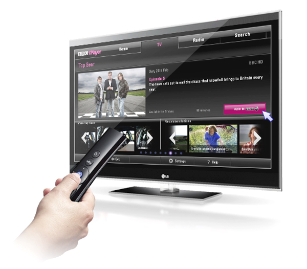 lg, magic control, smart tv