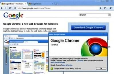 Google actualiza su navegador Chrome