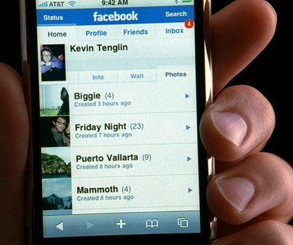 s videollamadas se incorporan a la versión de Facebook para iPhone