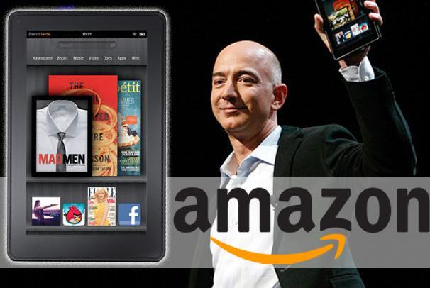 Kindle Fire crece más rápidamente que el iPad de Apple