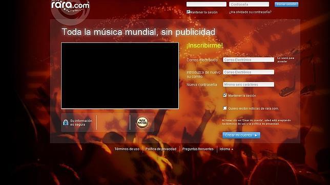 rara.com rara musica online