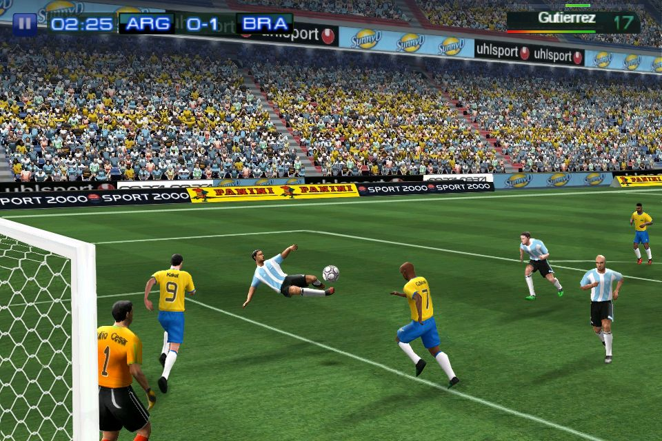 gameloft real football 2012 app store