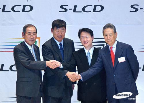Sony vende a Samsung su mitad de S-LCD