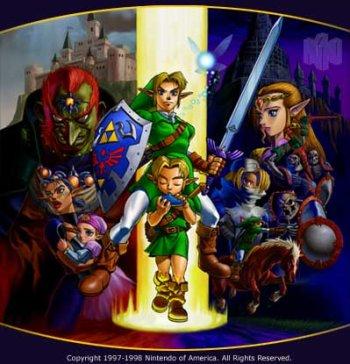 The Legend of Zelda nintendo wii