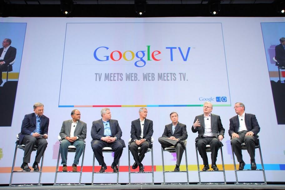 Google TV sería otra novedad en el CES en Las Vegas 2012