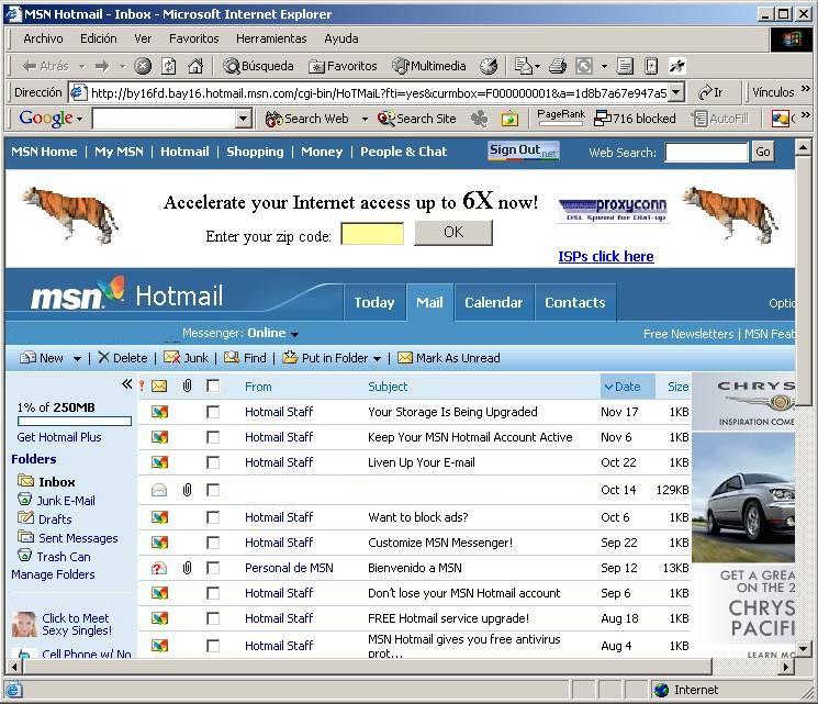 microsoft, hotmail, gmail, pasar de gmail a hotmail