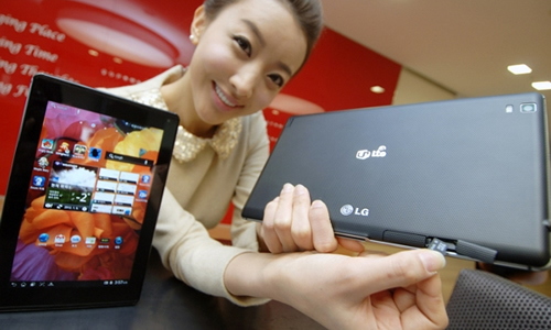 Tablet LG Optimus LTE
