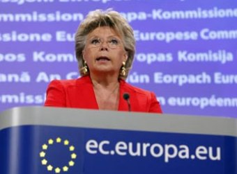 viviane rending, comision europea, derecho al olvido, privacidad de datos