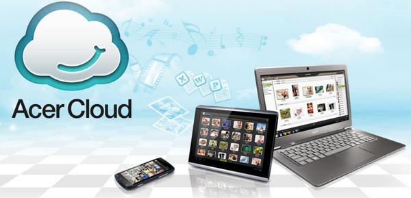 Acer se suma al servicio Cloud con AcerCloud