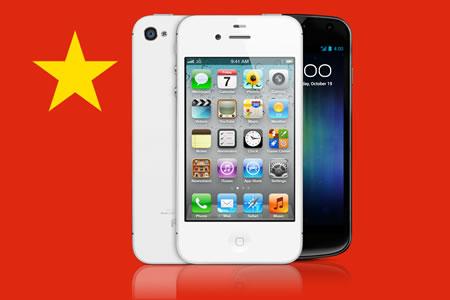 Fabricantes chinos se unen contra de Microsoft, Nokia y Apple