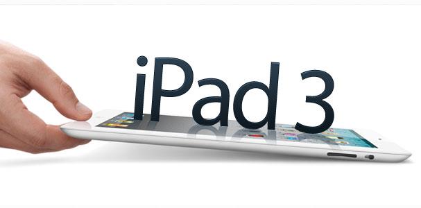 El iPad 3 es fabricado por Foxconn y Pegatron y sería lanzado en marzo