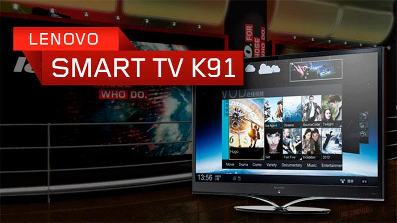 Lenovo presenta el primer TV con Android 4.0