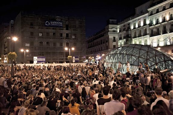 15M, elecciones autonomicas andaluzas
