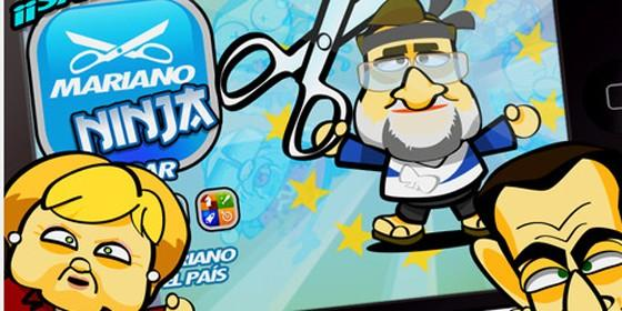 mariano ninja, juego de mariano rajoy, iphone