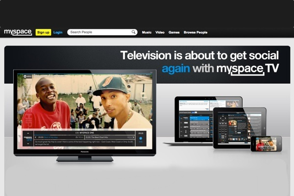 MySpace presenta su proyecto de TV