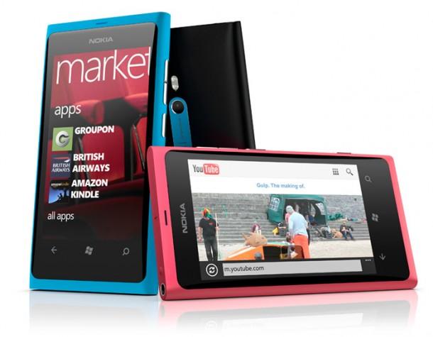 Nokia lanza una nueva actualización para el Lumia 800