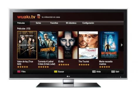 televisiones conectadas a internet