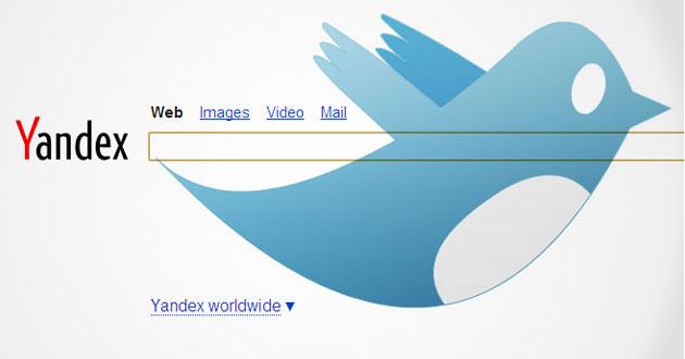 yandex, twitter