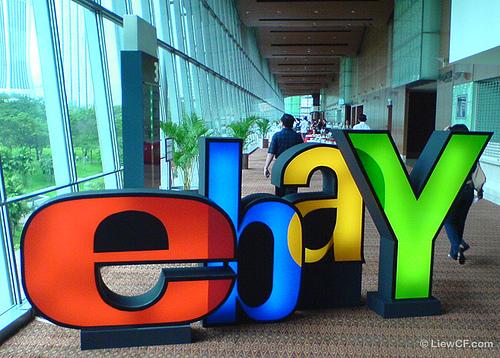 ebay, pagina de anuncios