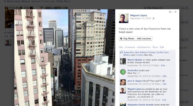 facebook, facebook cambia visor de fotografias