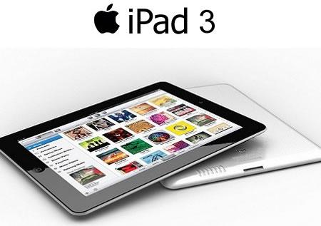 El iPad 3 llegaría el 6 de marzo