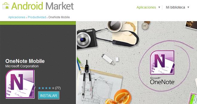 Microsoft anuncia OneNote para Android