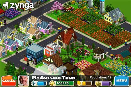 zynga, farmville, facebook