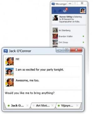 facebook messenger, windows 7