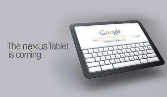 Google, llega el primer tablet Nexus