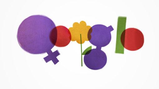 google, dia internacional de la mujer