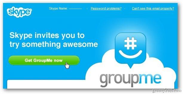 Skype actualiza la aplicación GroupMe